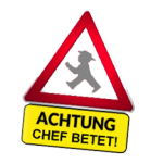 Chef betet